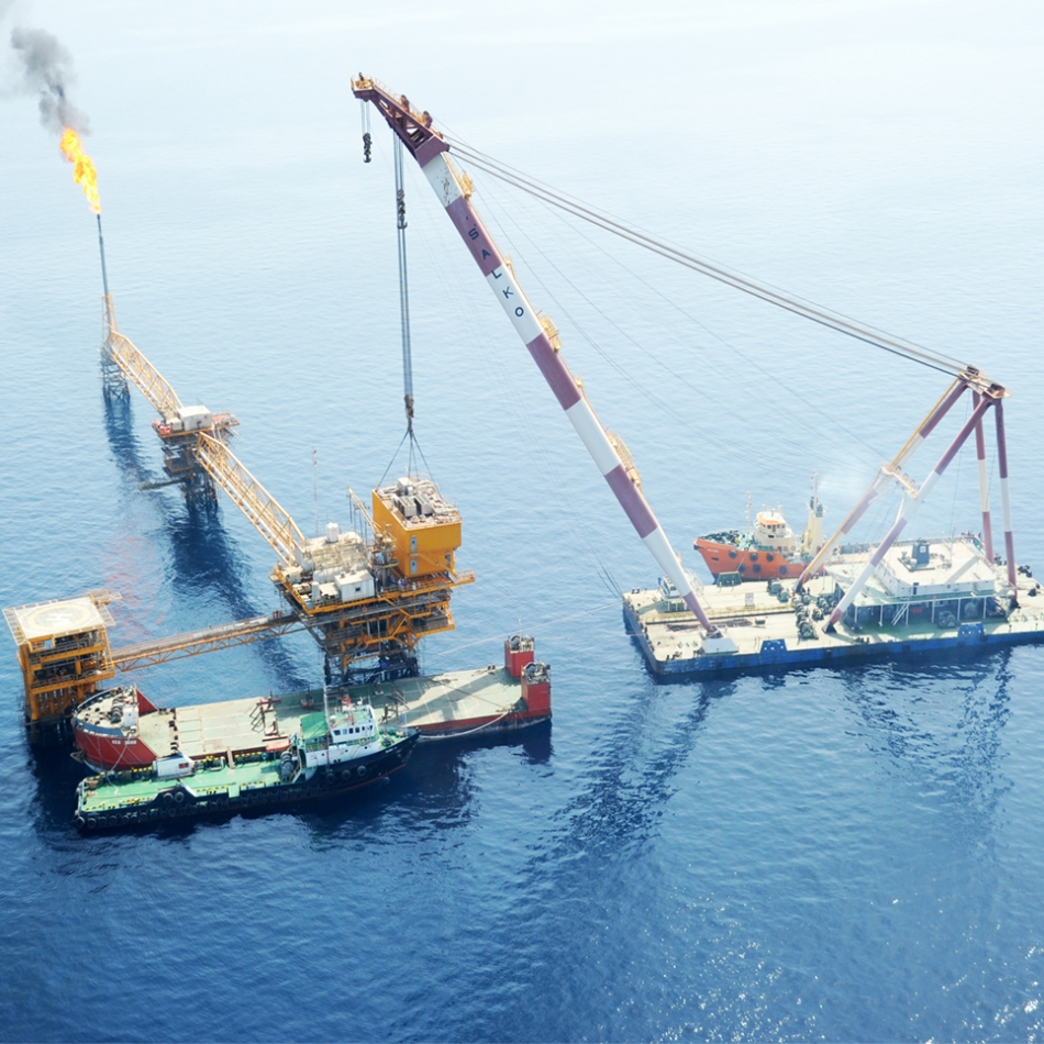 Offshore Engineering and Installation of two Living Quarters (FX and FY) in Foroozan Offshore Complex