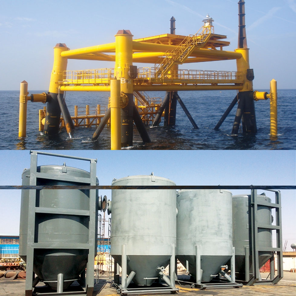 South Pars - P.G : Grouting Services for B-GCP and AB-GCP Jackets in P.G